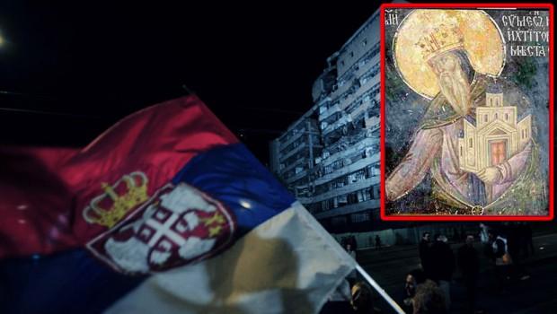 Srpska-zastava-Stefan-nemanja