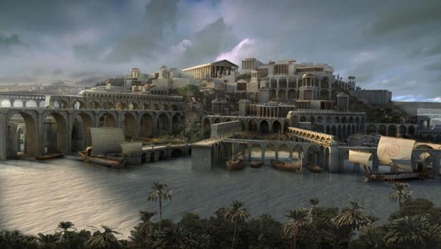 PRONAĐENA ATLANTIDA: Drevni grad ipak nije potonuo u potpunosti!