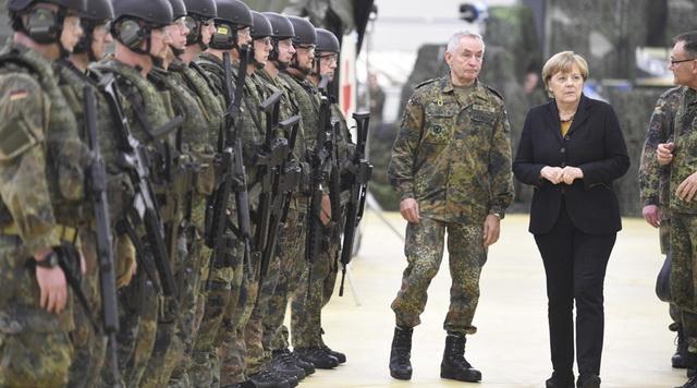 merkel- nemacka- vojska