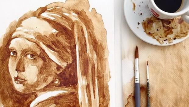 Neverovatno je šta ova žena može da uradi sa samo par šoljica kafe (VIDEO)