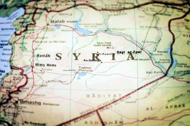 Mapa Kontrole Sirije 01 01 2020 Put Vjernika