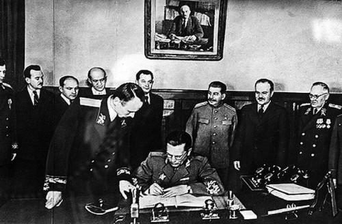 Josip Broz Tito na pregovorima sa Rusima. Staljin, Molotov