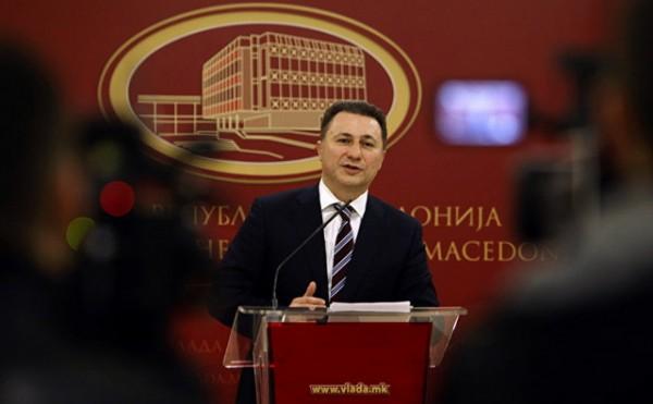 Protesti u Makedoniji zbog pripreme hapšenja Gruevskog (VIDEO)