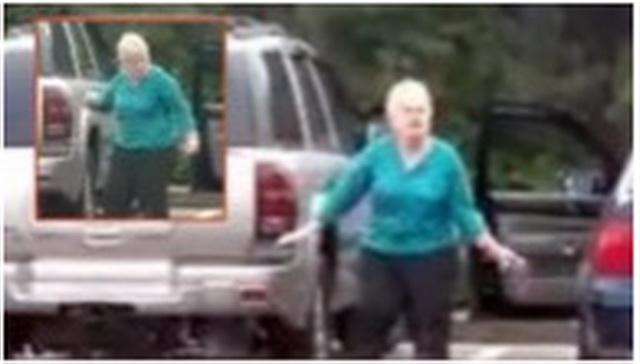 OVA BAKA NIJE ZNALA DA JE SNIMAJU: O njenom ponašanju na parkingu bruje društvene mreže! (VIDEO)