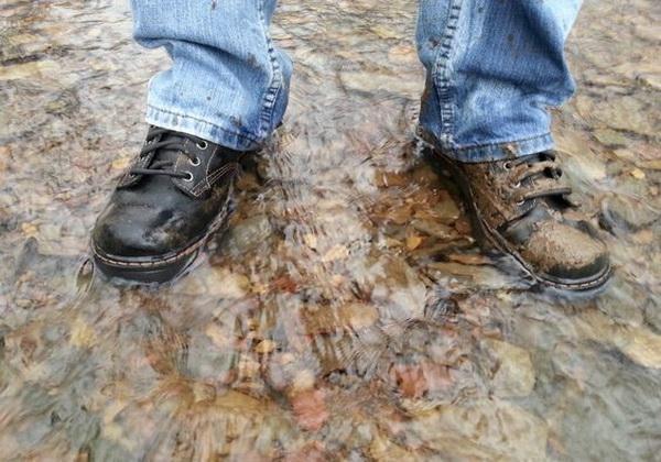 obuca- cipele- voda