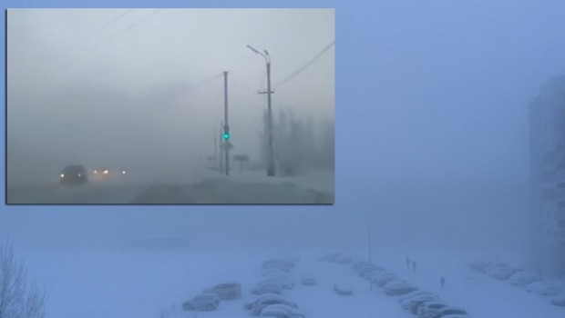 OVO SELO JE OKOVANO LEDOM NA -62°C: Sve je stalo, niko ne može da se probije kroz ove smetove (VIDEO)