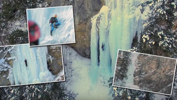 Srpski alpinisti se popeli uz zaleđene vodopade: Pogledajte kako izgleda podvig heroja! (VIDEO)