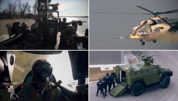 Pogledajte spektakularnu prezentaciju srpske vojske u Abu Dabiju (VIDEO)