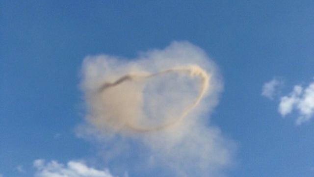 Pojavio se misterizoni, crni prsten na nebu iznad Kragujevca odmah nakon eksplozije (FOTO)