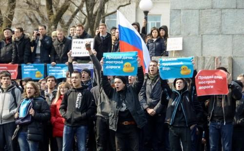 rusija- protesti