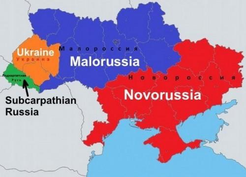 ukrajina- mapa