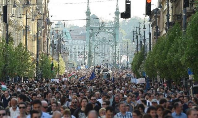 madjarska- protesti