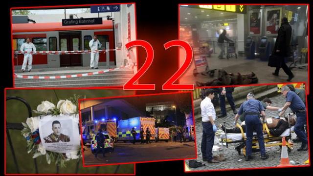MRAČNO PROROČANSTVO BROJA 22: MNOGI PREDVIĐAJU, DA ĆE SE SLEDEĆI TERORISTIČKI NAPAD DESITI ZA NEKOLIKO NEDELJA!