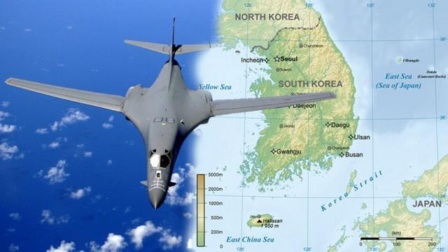 SAD poslale SUPERSONIČNE BOMBARDERE na Korejsko poluostrvo