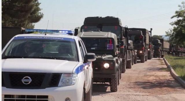 ŠOK NA SEVERU GRČKE: Blokiran konvoj Albanskih NATO vojnika na putu za Rumuniju, narod izašao na ulice – pogledajte kako su ih Grci dočekali! (VIDEO)