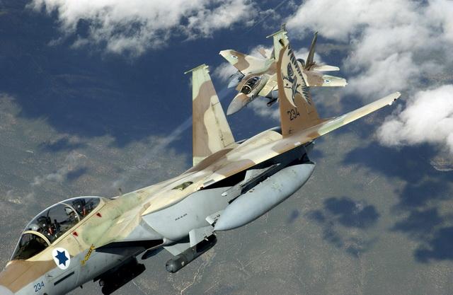izrael- avioni