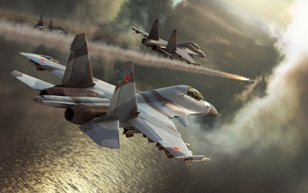 su-47-avion-rusija-bombardovanje-borba