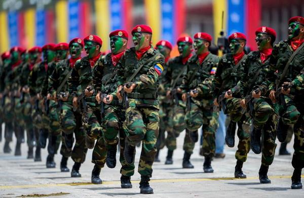 venecuela- vojska- vojnici