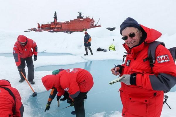 led- sneg- arktik- antarktik- naucnici