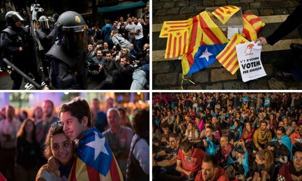 spanija- katalonija- protesti