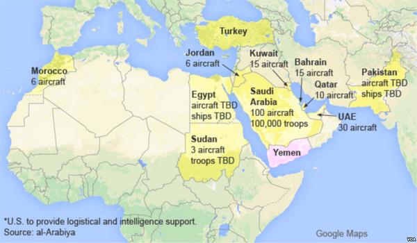 jemen- mapa